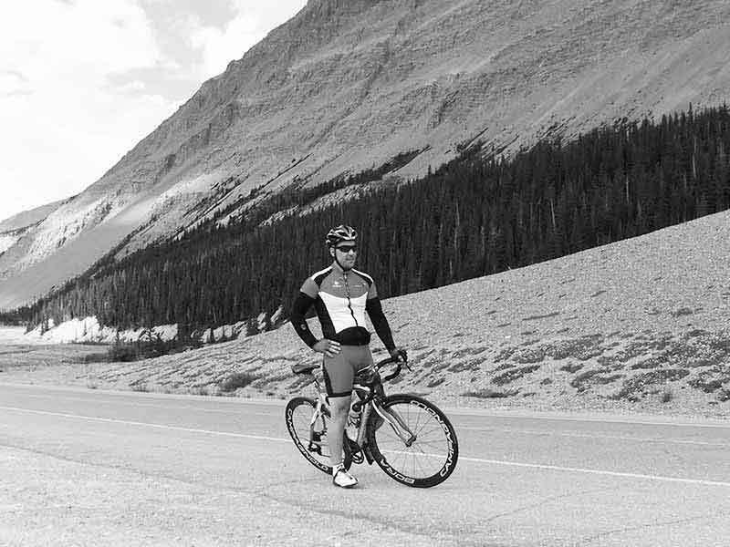 Lance Donnelly on the Icefield Parkway
